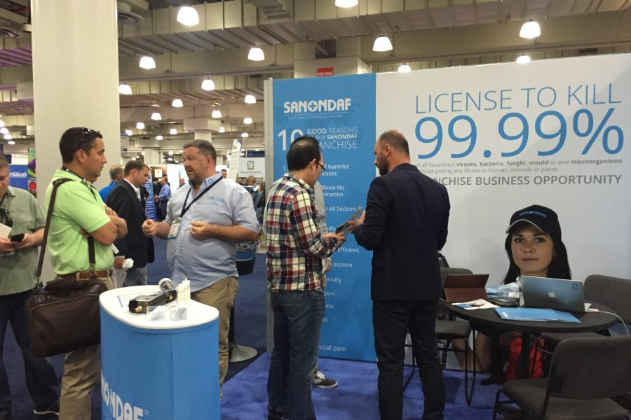 SANONDAF PARTICIPATE FOR THE 2ND TIME AT THE IFE IN NEW YORK